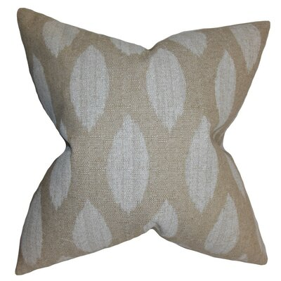 Juliaca Ikat Bedding Sham Size: Euro, Color: Natural