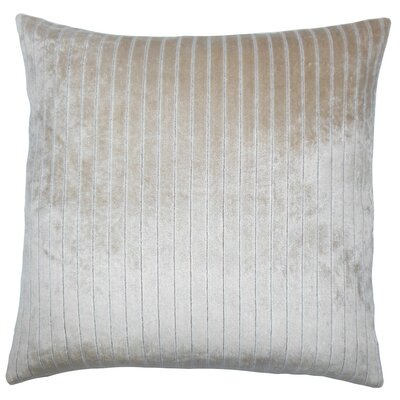 Maaike Striped Throw Pillow Cover Color: Driftwood