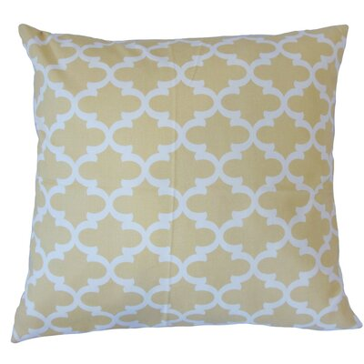 Seghen Geometric Cotton Throw Pillow Size: 18 x 18