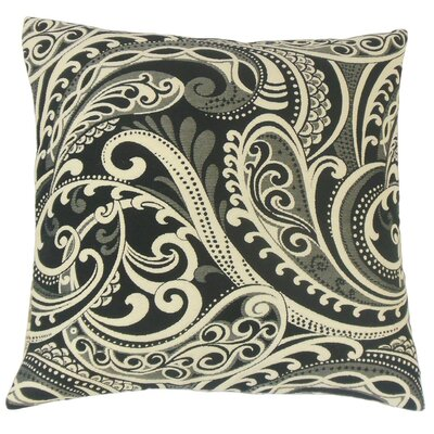 Natashaly Damask Throw Pillow Cover Color: Domino
