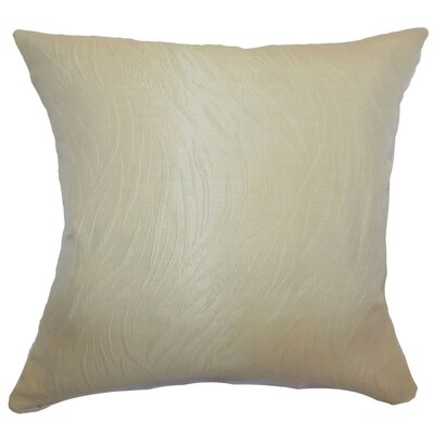 Nichola Plain Throw Pillow Size: 22 x 22