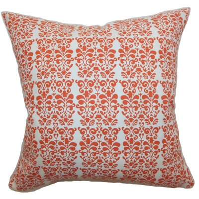 Silvia Floral Silk Throw Pillow Cover