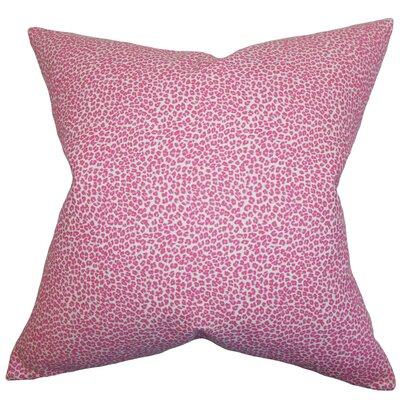 Doretta Animal Print Cotton Throw Pillow Size: 24 x 24