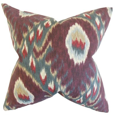 Dai Ikat Throw Pillow Size: 22 x 22