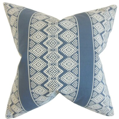 Zadock Geometric Throw Pillow Size: 24 x 24