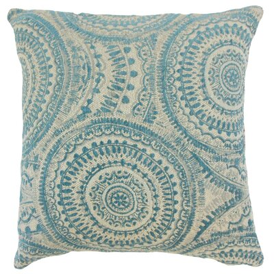 Freira Geometric Throw Pillow Cover Size: 18 x 18