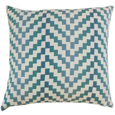 Dhiren Geometric Throw Pillow Cover Size: 18 x 18, Color: Zinc