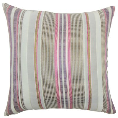 Fritha Stripes Throw Pillow Size: 18