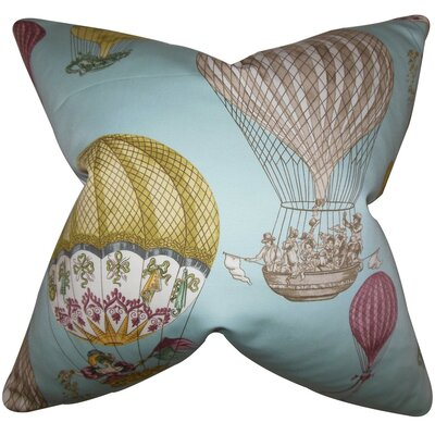 Arley Cotton Throw Pillow Size: 22 x 22