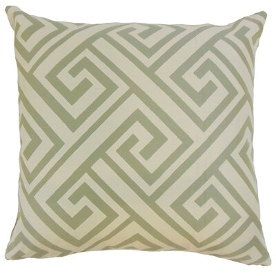 Josue Geometric Throw Pillow Cover Size: 20 x 20, Color: Spice