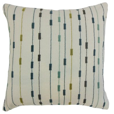 Ancelin Stripes Throw Pillow Cover Size: 18 x 18