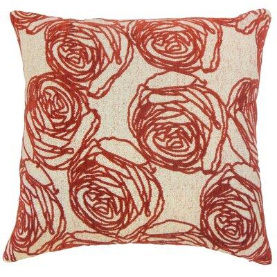 Halen Floral Cotton Throw Pillow Cover