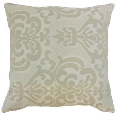 Sarane Damask Throw Pillow Cover Size: 20 x 20, Color: Lichen