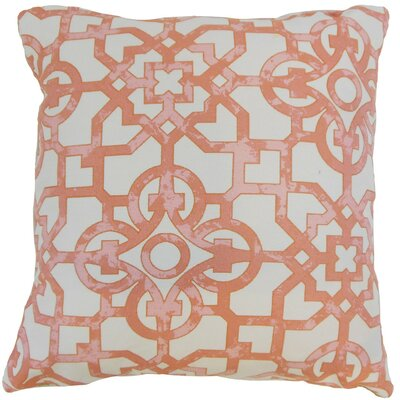 Nowles Geometric Throw Pillow Cover Size: 18 x 18