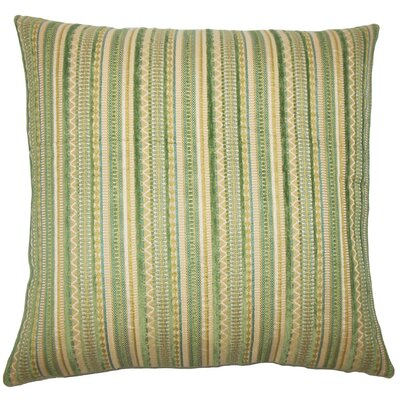 Uorsin Striped Throw Pillow Cover Size: 18 x 18