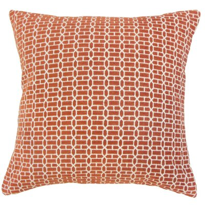 Tenauri Geometric Throw Pillow Cover Size: 18