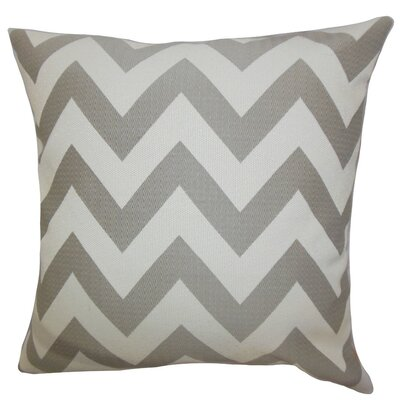 Diahann Chevron Throw Pillow Cover Size: 20 x 20, Color: Grey