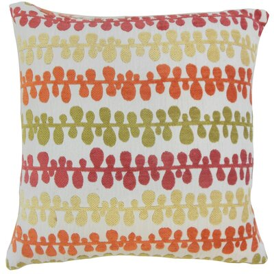 Qwara Geometric Throw Pillow Cover Size: 18 x 18