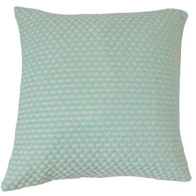 Jevonte Woven Cotton Throw Pillow Size: 18 x 18