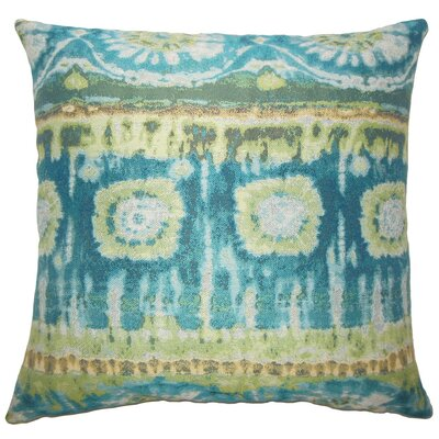 Pepijn Ikat Throw Pillow Cover Size: 18 x 18