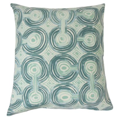 Alphege Geometric Cotton Throw Pillow Size: 18 x 18
