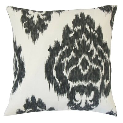 Mahendra Ikat Cotton Throw Pillow Size: 18 x 18
