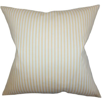 Ailsa Stripes Cotton Throw Pillow Size: 24 x 24