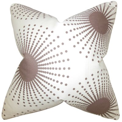 Guthrie Geometric Cotton Throw Pillow Cover Size: 20 x 20
