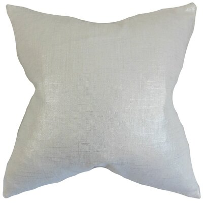 Berquist Throw Pillow Color: Pearl, Size: 22 x 22