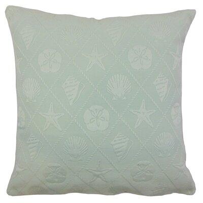Naeva Outdoor Throw Pillow Cover Color: Baltic