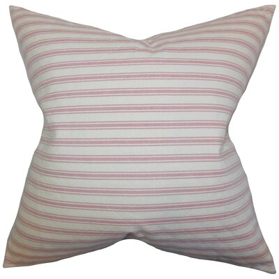 Greer Stripes Cotton Throw Pillow Size: 24 x 24