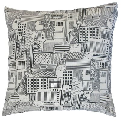 Xakery Geometric Cotton Throw Pillow Size: 24 x 24