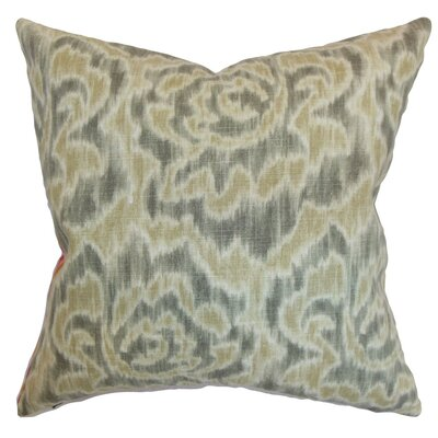 Arsenault Ikat Throw Pillow Cover Size: 18 x 18