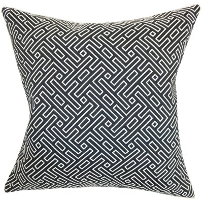 Ocussi Geometric Throw Pillow Cover Size: 18 x 18