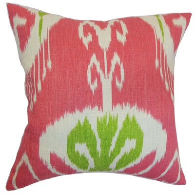 Ukhta Cotton Throw Pillow Size: 18 x 18