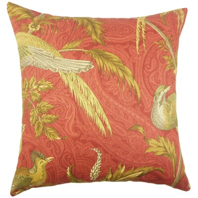 Ikaterina Graphic Cotton Throw Pillow Size: 24 x 24