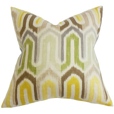 Wiley Geometric Linen Throw Pillow Cover
