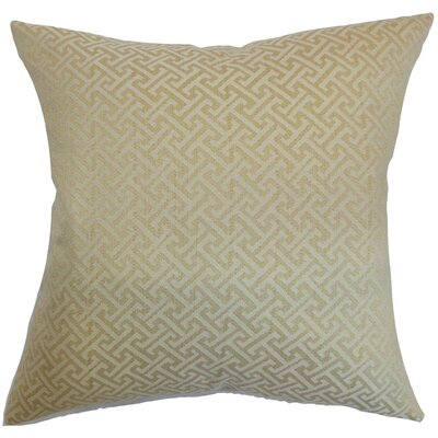 Karpathos Geometric Throw Pillow Cover Size: 18 x 18