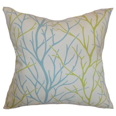 Fderik Trees Cotton Throw Pillow Cover Size: 18 x 18, Color: Toffee