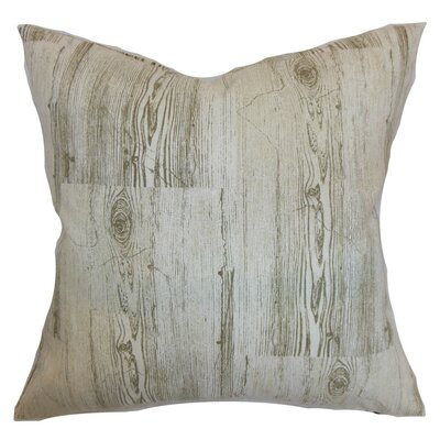Kratie Graphic Throw Pillow Cover Size: 20 x 20, Color: Toffee