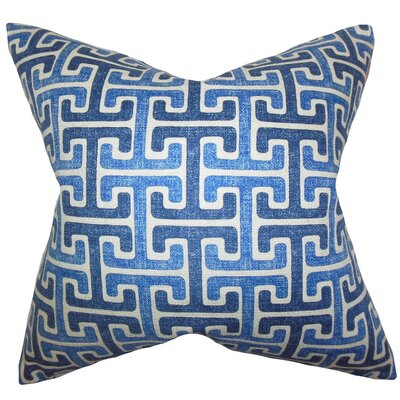 Delmore Geometric Cotton Throw Pillow Cover