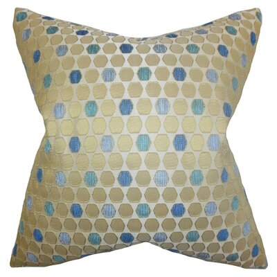 Itzel Geometric Throw Pillow Size: 18 x 18