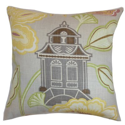 Yasawa Cotton Throw Pillow Size: 20 x 20