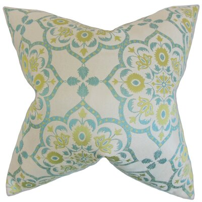 Chapell Geometric Throw Pillow Cover Color: Caribbean