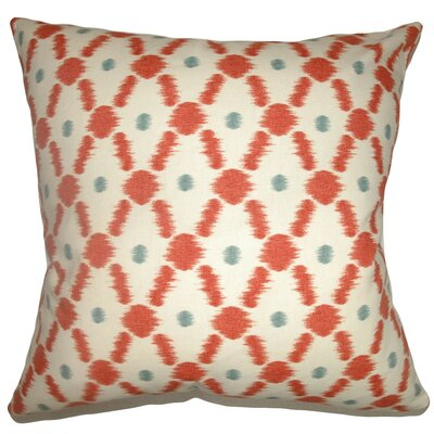 Farlow Link Cotton Throw Pillow Size: 18 x 18