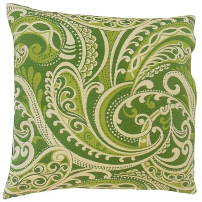 Natashaly Damask Throw Pillow Cover Color: Kelly