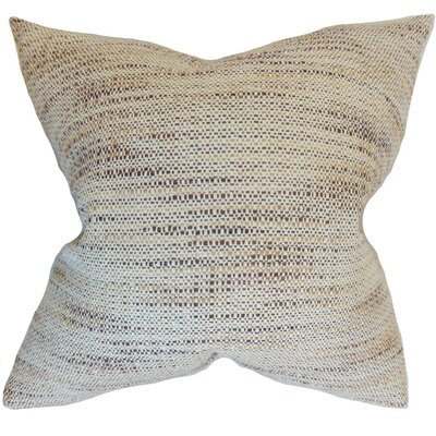 Lakota Stripes Throw Pillow Cover Color: Tan