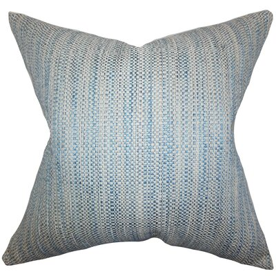 Zebulun Woven Throw Pillow Cover Color: Blue
