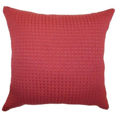 Kameron Plain Cotton Throw Pillow Size: 22 x 22