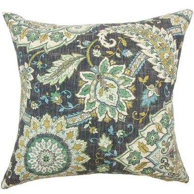 Amadea Floral Throw Pillow Size: 22 x 22